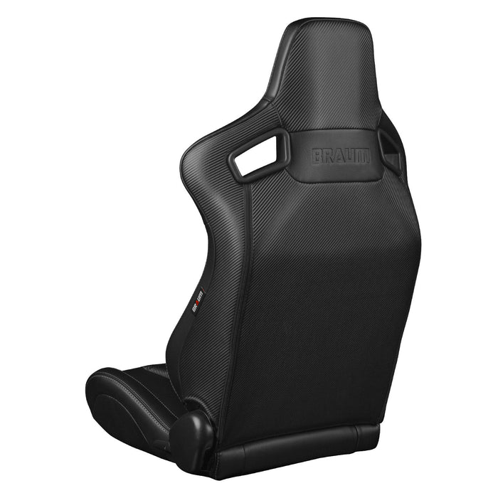 Braum Racing Black Diamond Stich Elite-X Series Racing Seats - Outcast Garage