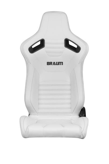 Braum Racing White Elite-X Series Racing Seats - Outcast Garage