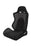 Braum Racing Black with Suede S8 Series Racing Seat V2 - Outcast Garage