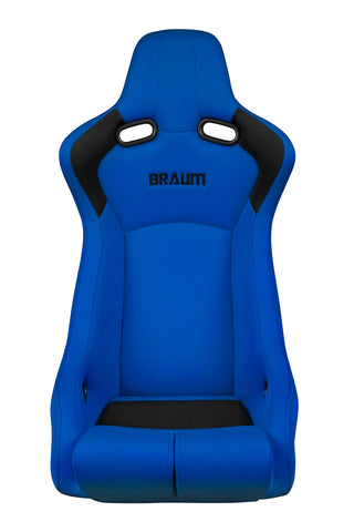 Braum Racing Blue Fabric Venom-R Fixed Bucket Racing Seat - Outcast Garage