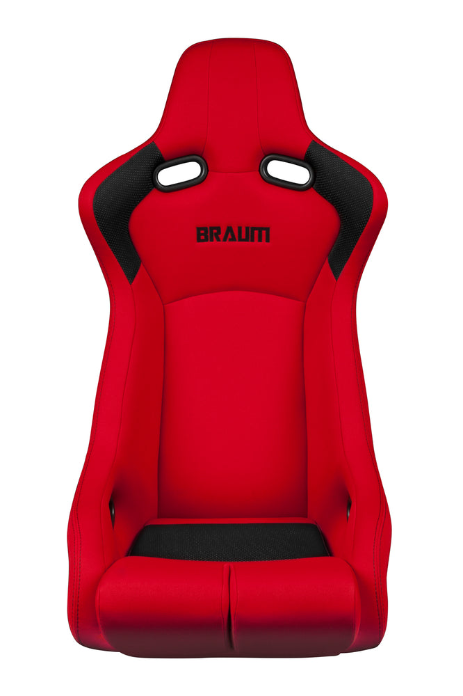 Braum Racing Red Fabric Venom-R Fixed Back Bucket Racing Seat - Outcast Garage