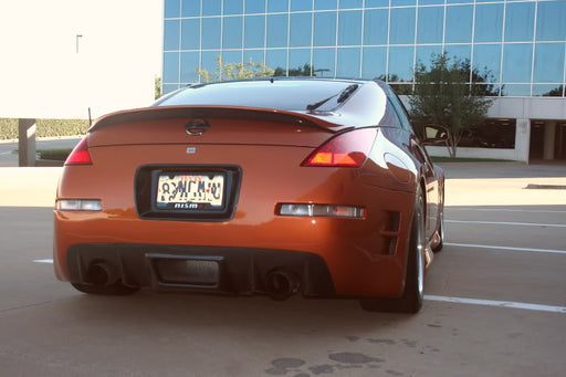 VIS Racing Z-Speed / CS-Style Rear Bumper (Fiberglass) - Nissan 350Z - Outcast Garage