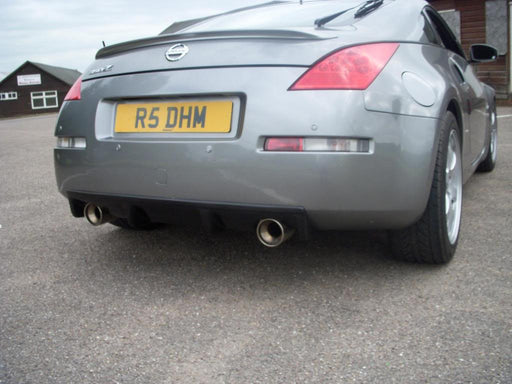 Circuit Sports Rear Bumper Diffuser - 350Z - Outcast Garage