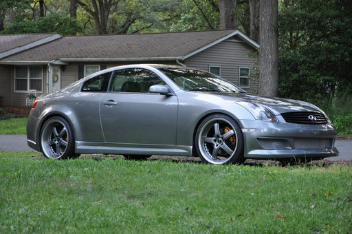 K2 Remix Side Skirts (Poly) - Infiniti G35 Coupe - Outcast Garage