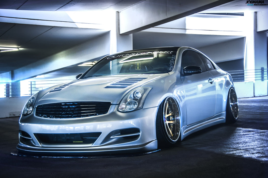 OG Designs HR Hood - Infiniti G35 Coupe - Outcast Garage