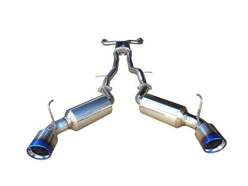 Injen Dual Cat-Back Stainless Exhaust - G37/Q60 Coupe - Outcast Garage
