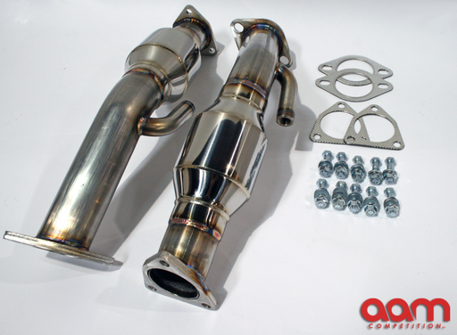 "AAM Competition 2.5"" Resonated Test Pipes - Infiniti G35 / Nissan 350Z - Outcast Garage"