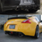 JDM Style Carbon Rear Diffuser w/ Cut-Out for Brake Light Nissan 370z 09+ (Non-Nismo)