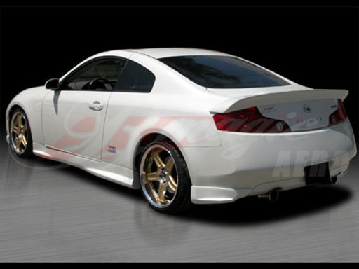 AIT Racing SAM-Style Rear Trunk Spoiler (Fiberglass) - Infiniti G35 Coupe - Outcast Garage