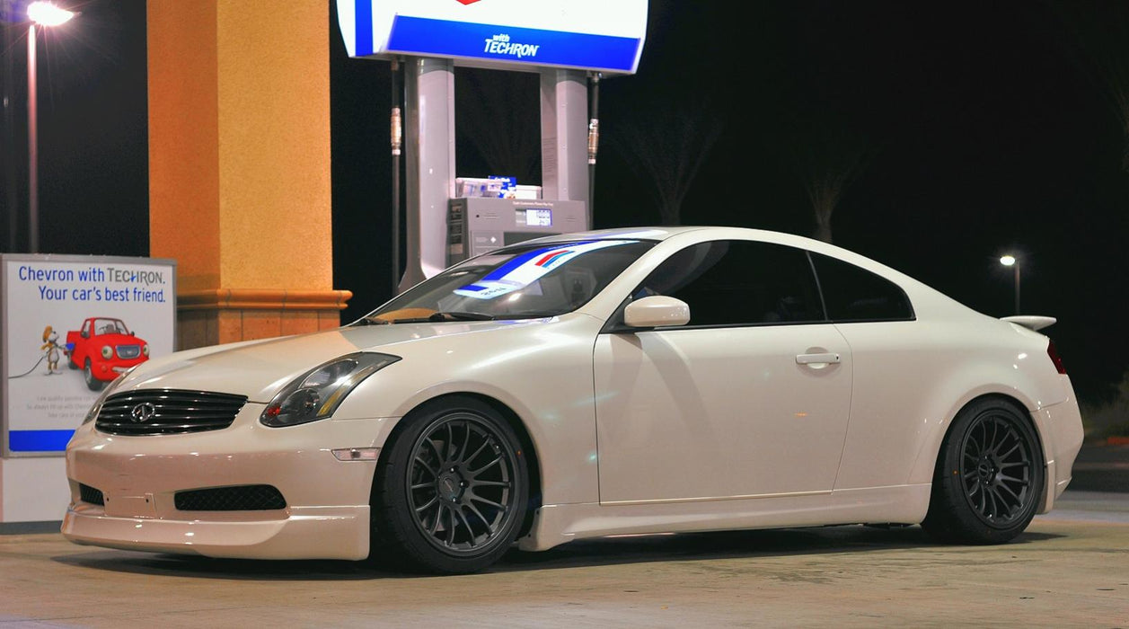 KBD INGs Style Front Lip (Poly) - Infiniti G35 Coupe Non-Sport - Outcast Garage