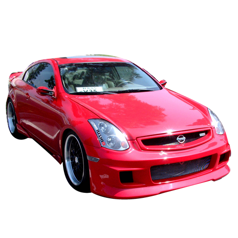 VIS Racing Greddy Replica Front Bumper (FRP) - Infiniti G35 Coupe