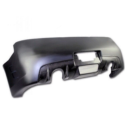 VIS Racing GT3 / Strafespeed Rear Bumper (Fiberglass + Carbon) - Infiniti G35 Coupe - Outcast Garage