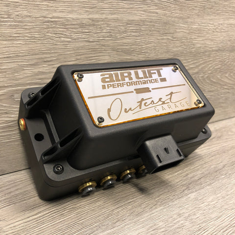 Outcast x Air Lift Custom Acrylic Plate for 3P / 3H Manifold - Outcast Garage