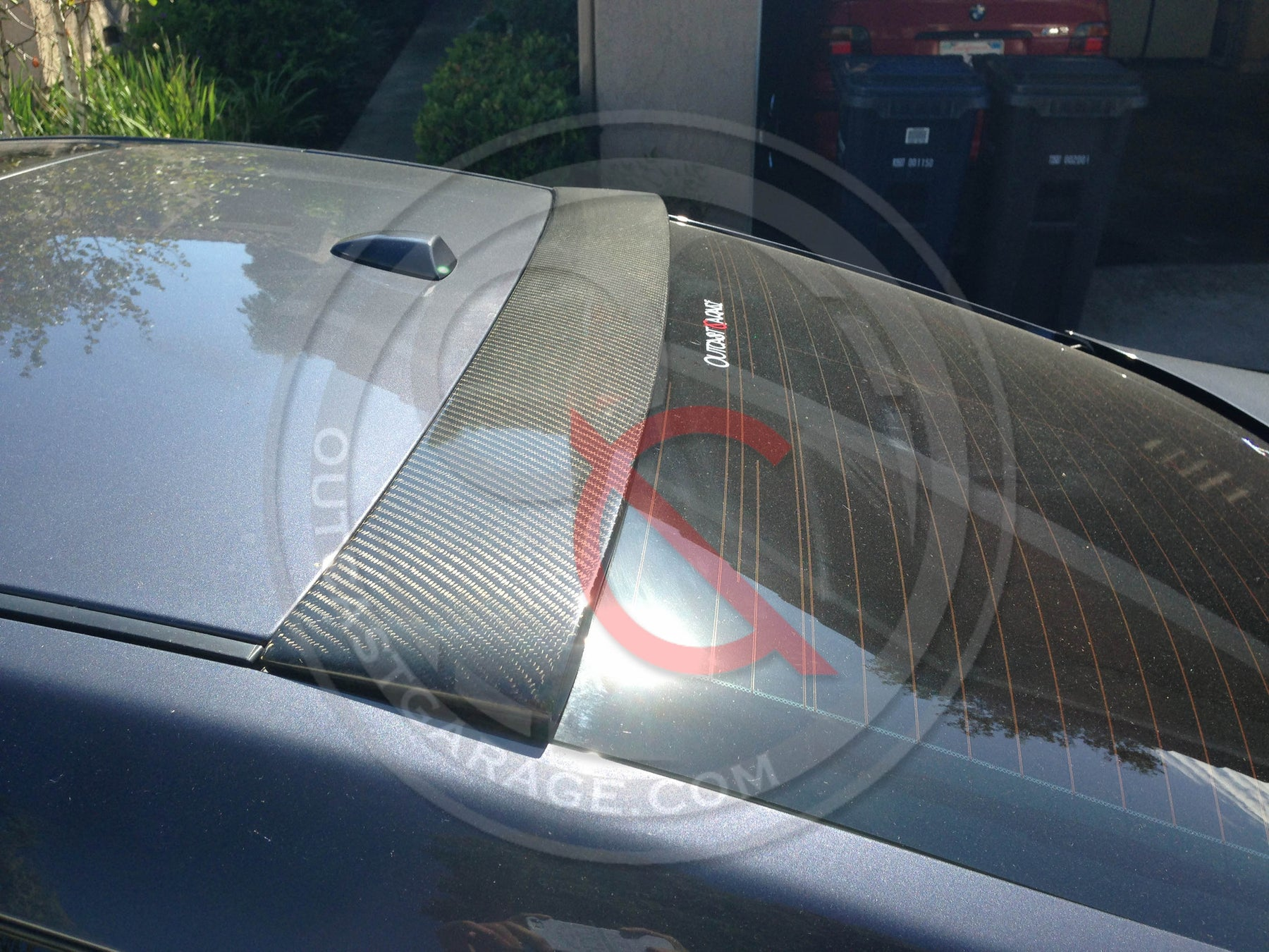 Carbon Fiber Roof Spoiler - G37/Q60 Coupe - Outcast Garage