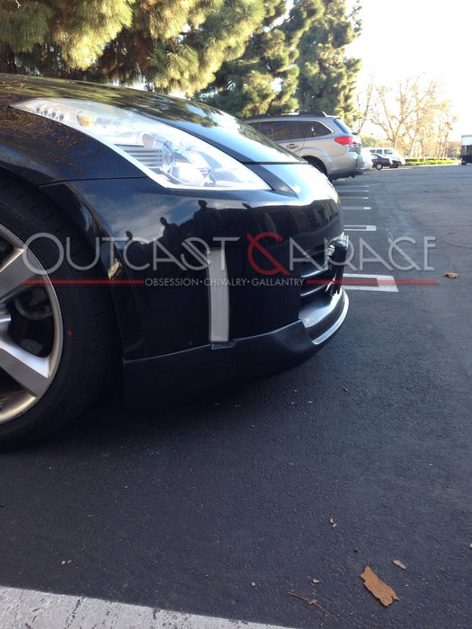 ING-Style Polyurethane Front Lip - 350Z (03-05) - Outcast Garage