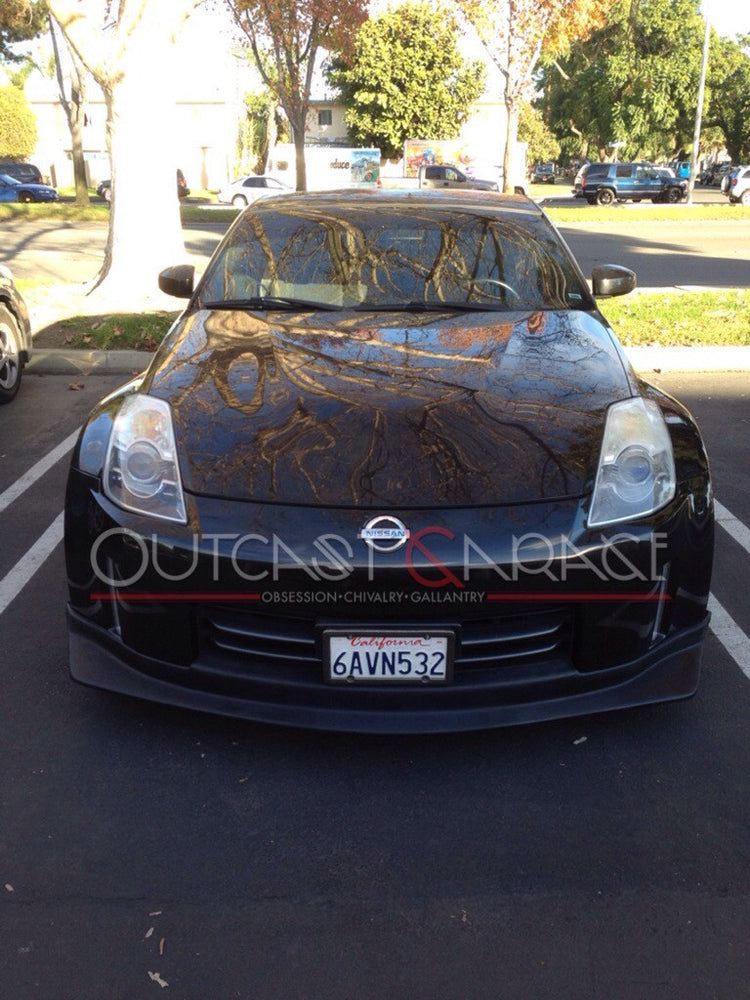 Nismo-Style Polyurethane Front Lip - 350z (06-08) - Outcast Garage