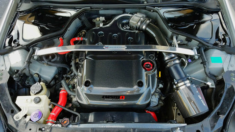 Carbon Fiber Half Engine Cover - G35 Sedan