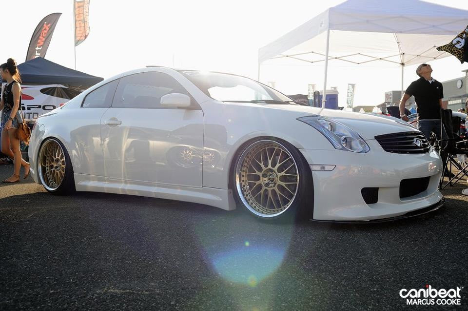 IM-Style / Impul Replica V2 Side Skirts (Poly) - Infiniti G35 Coupe - Outcast Garage
