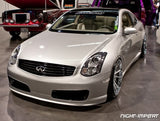 Nismo-Style V3 Poly Front Bumper - G35 Coupe