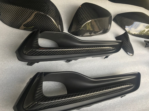 EMM Tuning Direct Carbon Fiber Mirror Covers - Q60 - Outcast Garage