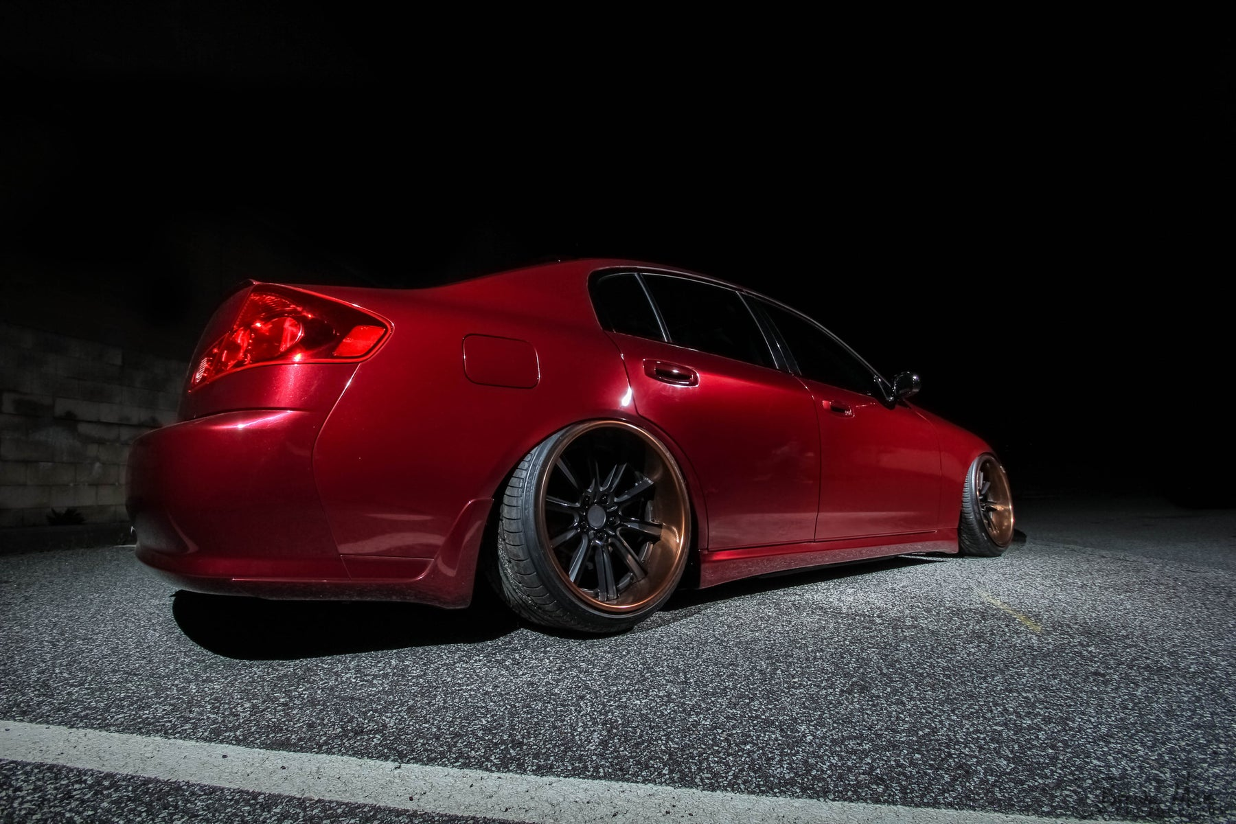Hikkatadori Side Skirts (FRP) - Infiniti G35 Sedan - Outcast Garage