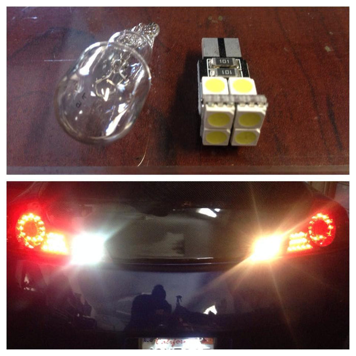 Stage 2 921 LED Reverse Lights - 370z - Outcast Garage