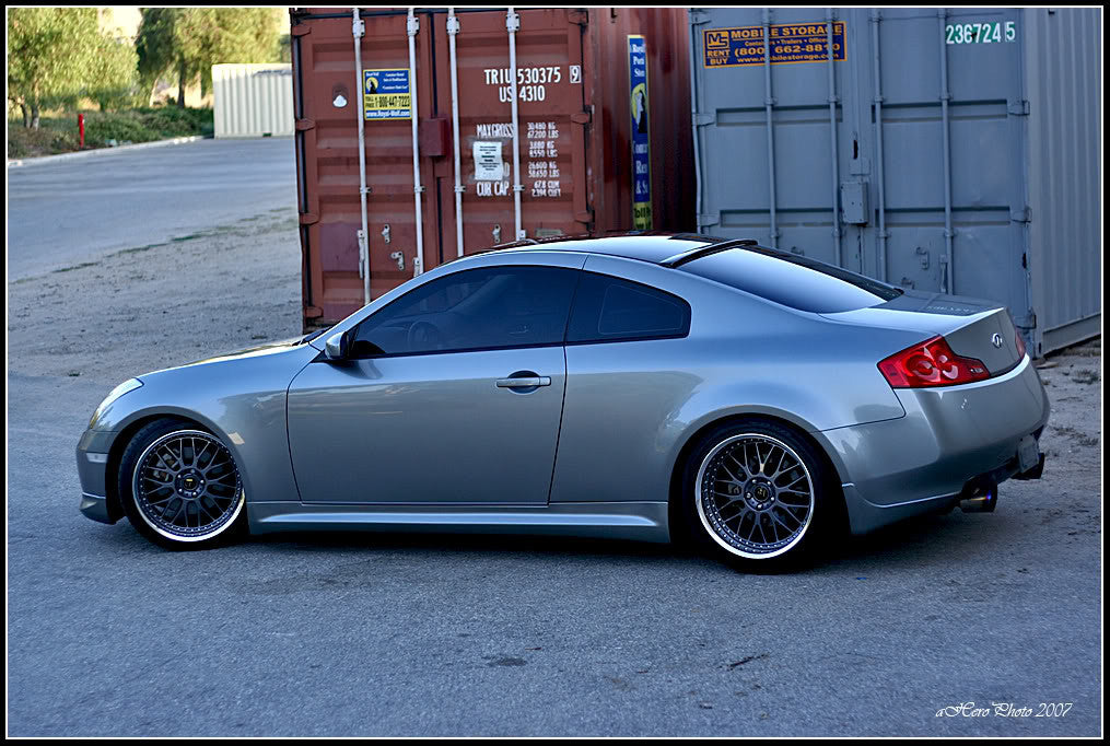 Inven Roof Spoiler - Infiniti G35 Coupe - Outcast Garage