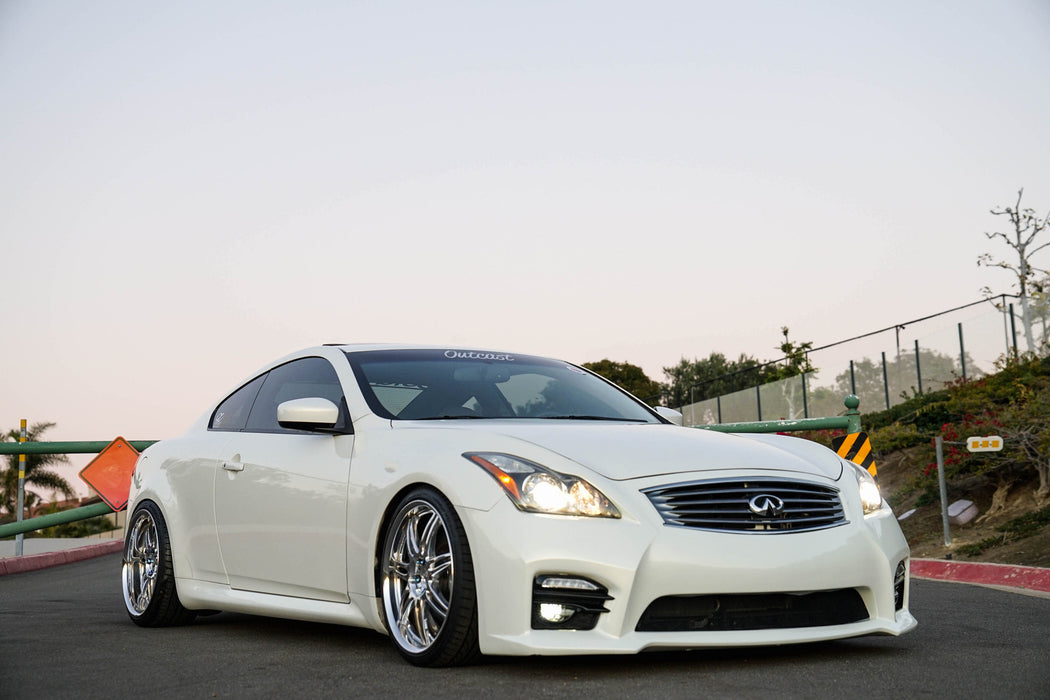 OG Designs QS Front Bumper Kit (Poly) - Infiniti G37 / Q60 Coupe (08-15) - Outcast Garage