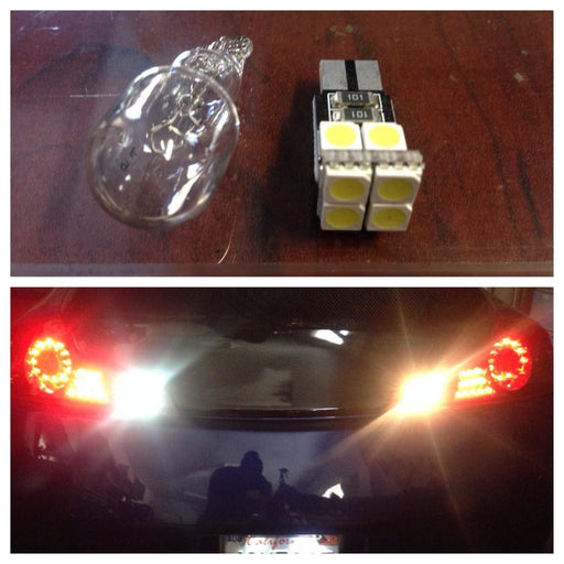 Stage 2 921 LED Reverse Lights - 350z - Outcast Garage