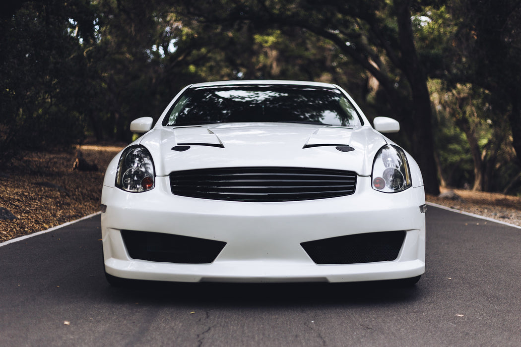Emblemless Grille (ABS) - Infiniti G35 Coupe - Outcast Garage