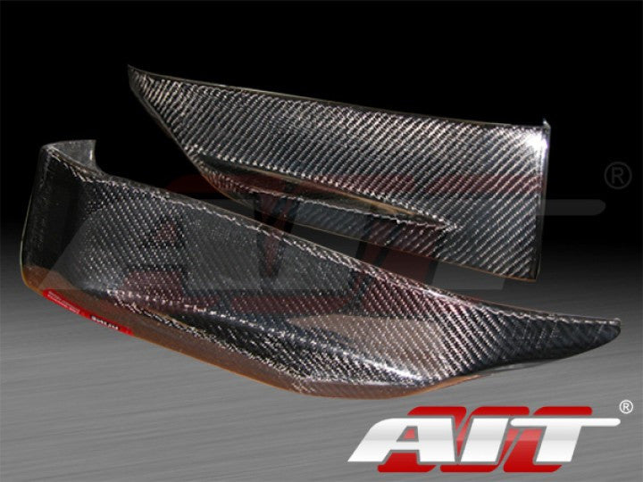 AIT Racing Nismo-Style Rear Add-Ons (Carbon Fiber) - Nissan 350Z - Outcast Garage