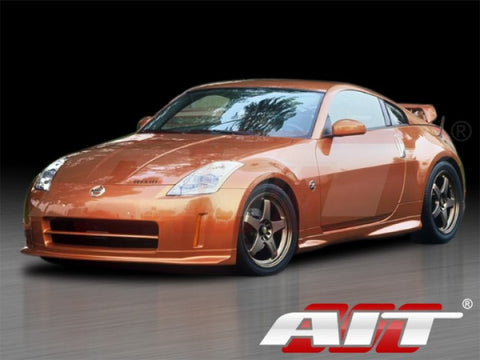 AIT Racing Nismo-Style Side Skirts (Fiberglass) - Nissan 350Z - Outcast Garage