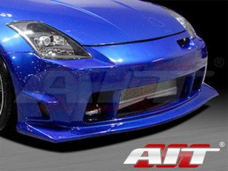 AIT Racing ING-Style V2 Front Bumper (Fiberglass) - Nissan 350Z - Outcast Garage