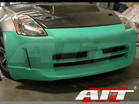 AIT Racing ING-Style Fiberglass Front Bumper - 350Z