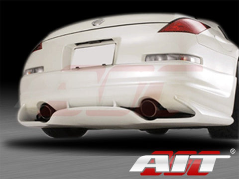 AIT Racing SRS-Style Rear Lip (Fiberglass) - Nissan 350Z - Outcast Garage