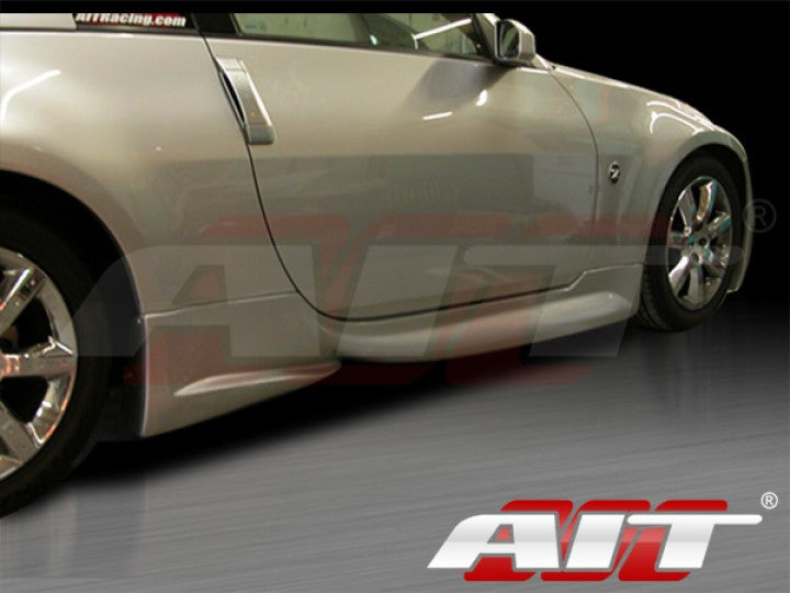 AIT Racing VS- 3 / Veilside-Style Side Skirts (Fiberglass) - Nissan 350Z - Outcast Garage