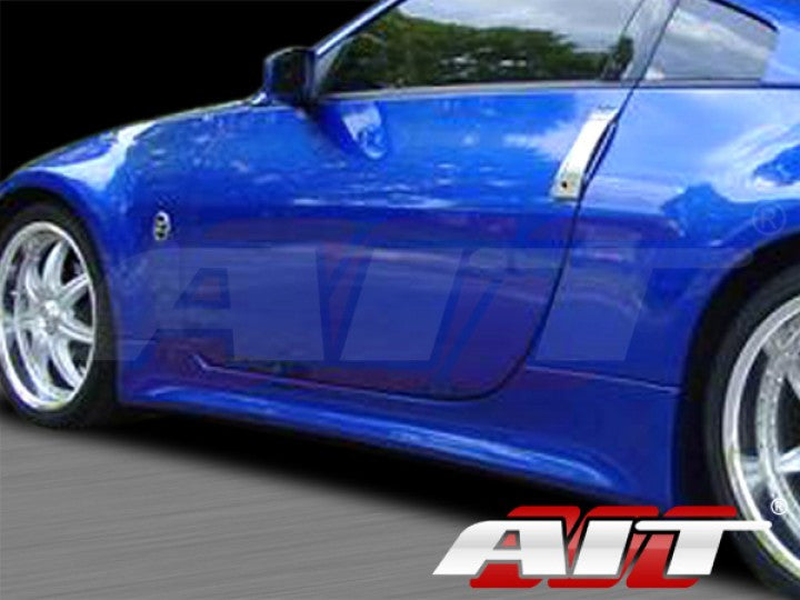 AIT Racing VTX / Vertex-Style Side Skirts (Fiberglass) - Nissan 350Z - Outcast Garage