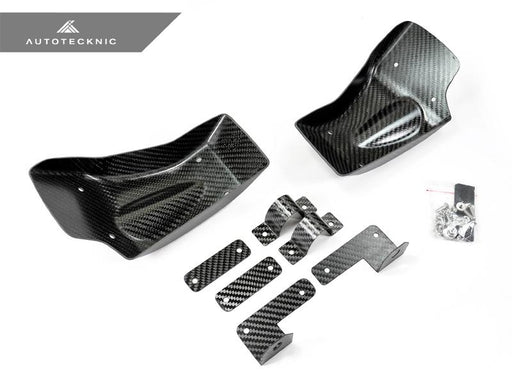 AutoTecknic Dry Carbon Fiber Brake Cooling Duct - Nissan R35 GT-R