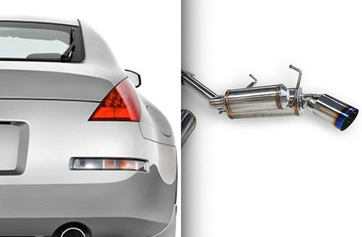 ARK Performance GRiP Exhaust (Burnt Tips) - Nissan 350Z (Z33) - Outcast Garage