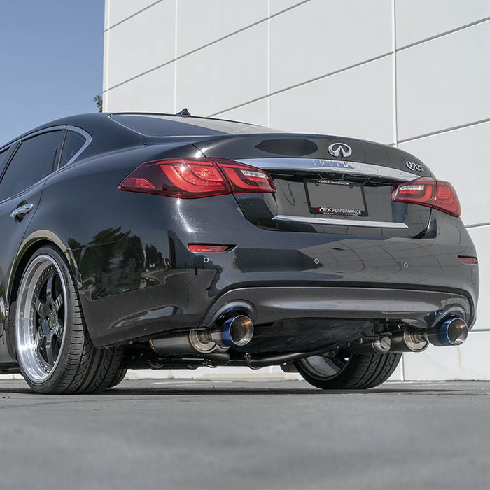 Ark Performance GRiP Cat-Back Exhaust System - Infiniti M37 / Q70 11+