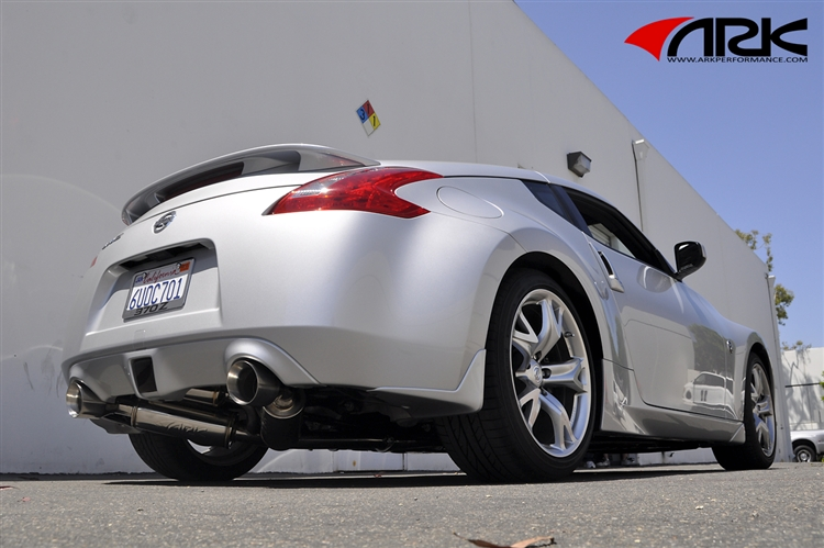 ARK Performance GRiP Exhaust (Polished Tips) - Nissan 370Z (Z34) - Outcast Garage
