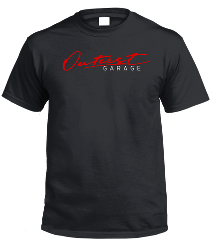 Outcast Garage T-Shirt (Black)