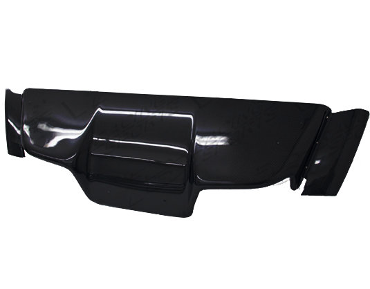 VIS Racing Top Secret Replica Rear Diffuser (FRP) - Universal