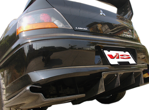 VIS Racing Varis Replica Rear Diffuser (Carbon) - Universal