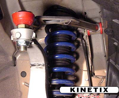 Kinetix Racing Adjustable Front Camber Upper Control Arms - G35 Coupe - Outcast Garage