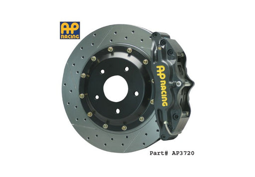 AP Racing 2-Piece 4-Piston Front Big Brake Kit - 350Z - Outcast Garage
