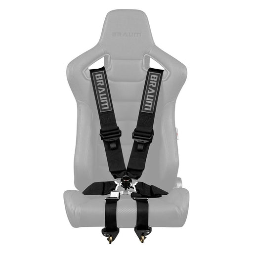 Braum Racing FIA 6-Point Racing Harness (Black)