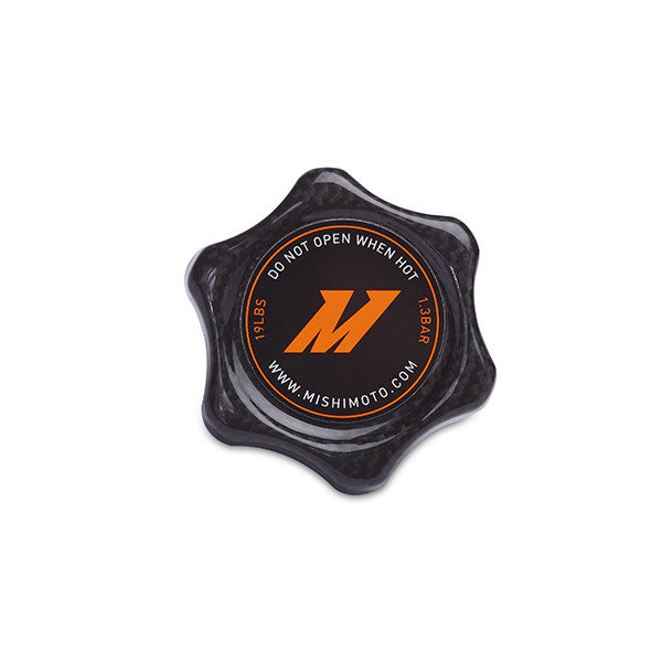 Mishimoto High-Pressure Carbon Fiber 1.3 Bar Radiator Cap, Small - Q50 - Outcast Garage