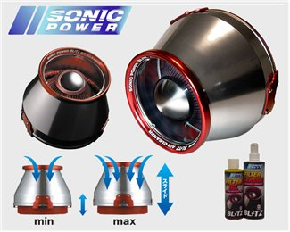 Blitz Sonic Power Air Intake System - G35 - Outcast Garage