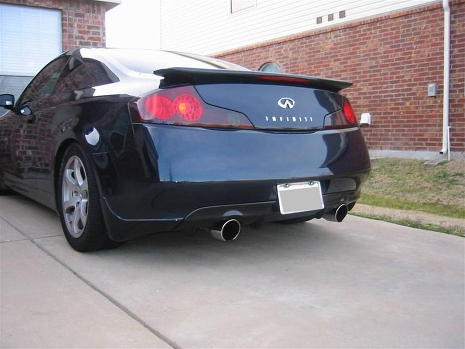 Nismo Replica Rear Diffuser (Poly) - Infiniti G35 Coupe - Outcast Garage
